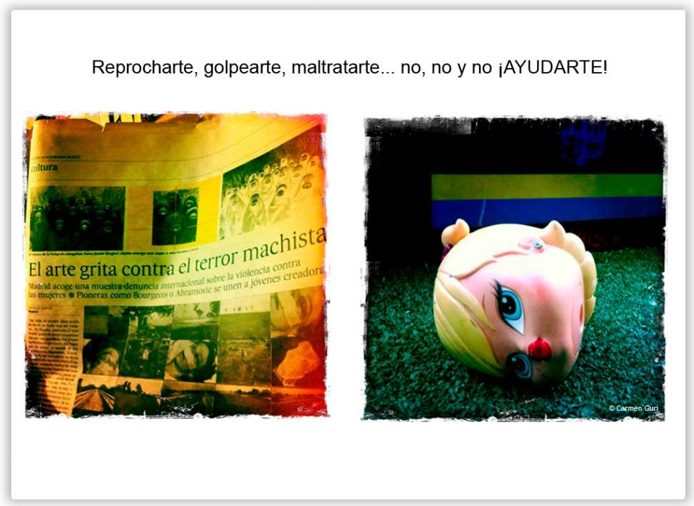 Mirame fijamente viñeta 64 Amarte Todos los derechos reservados. © Carmen Guri
